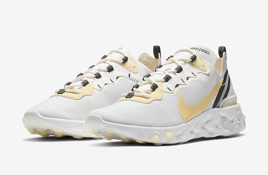 best sneakers 43cc8 04cd7 Nike React Element 55 BQ6166-101 Release Date