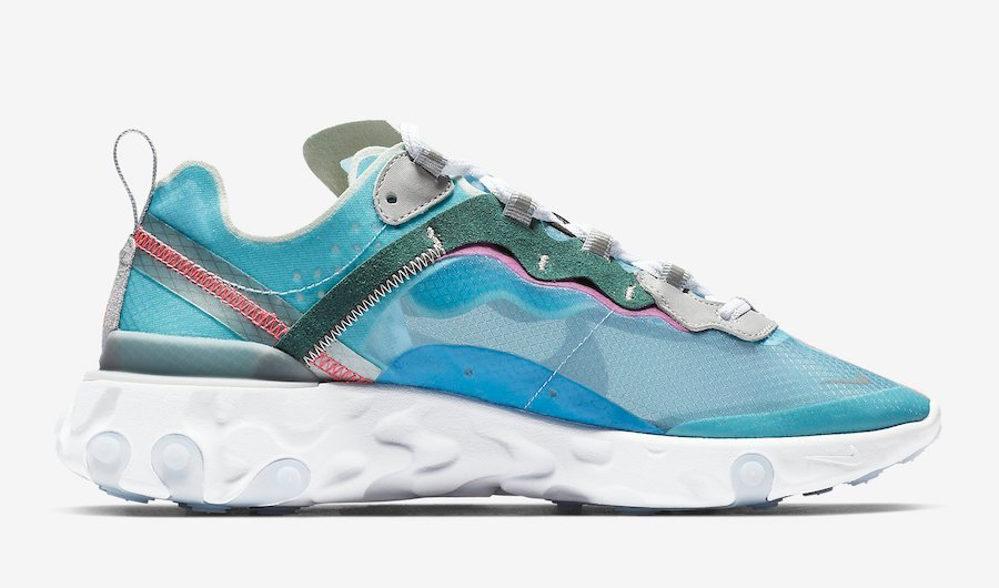 Nike React Element 87 Royal Tint AQ1090-400 Release Date