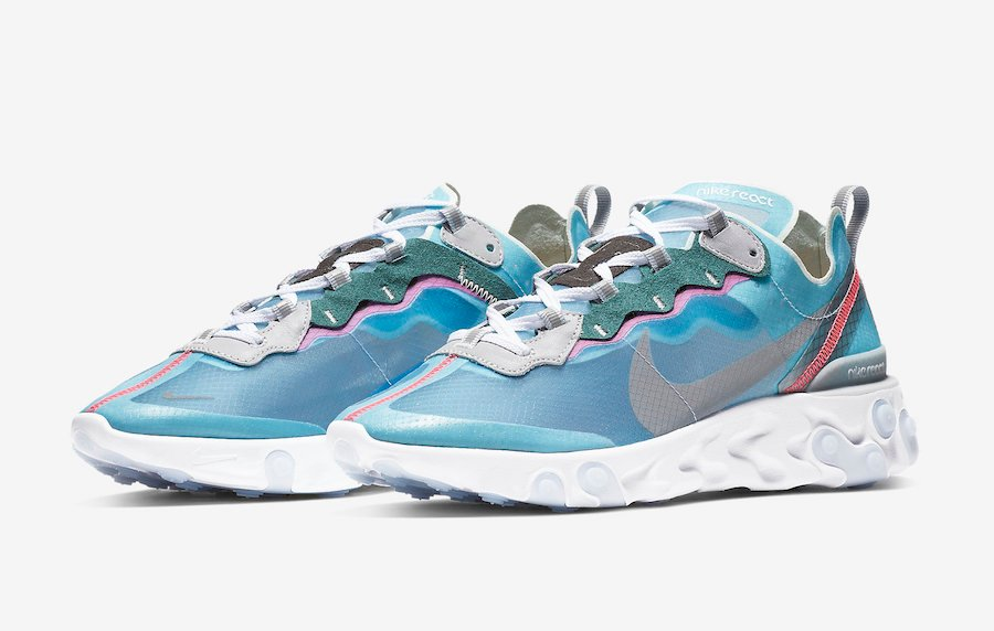 f6085bf2e1f0 Nike React Element 87 Royal Tint AQ1090-400 Release Date