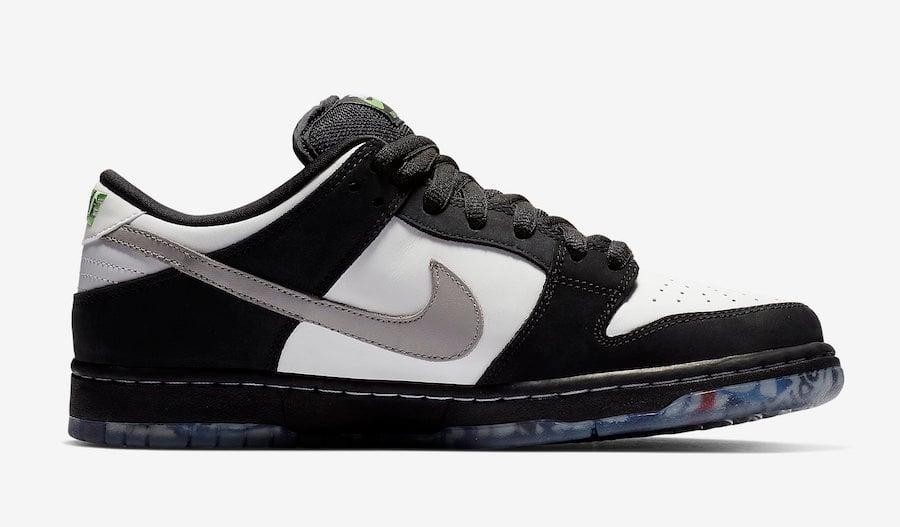 Nike SB Dunk Low Pigeon Black White BV1310 013 Release Date