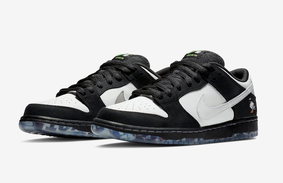the latest 50b38 58473 Nike SB Dunk Low Panda Pigeon BV1310-013 Release Details