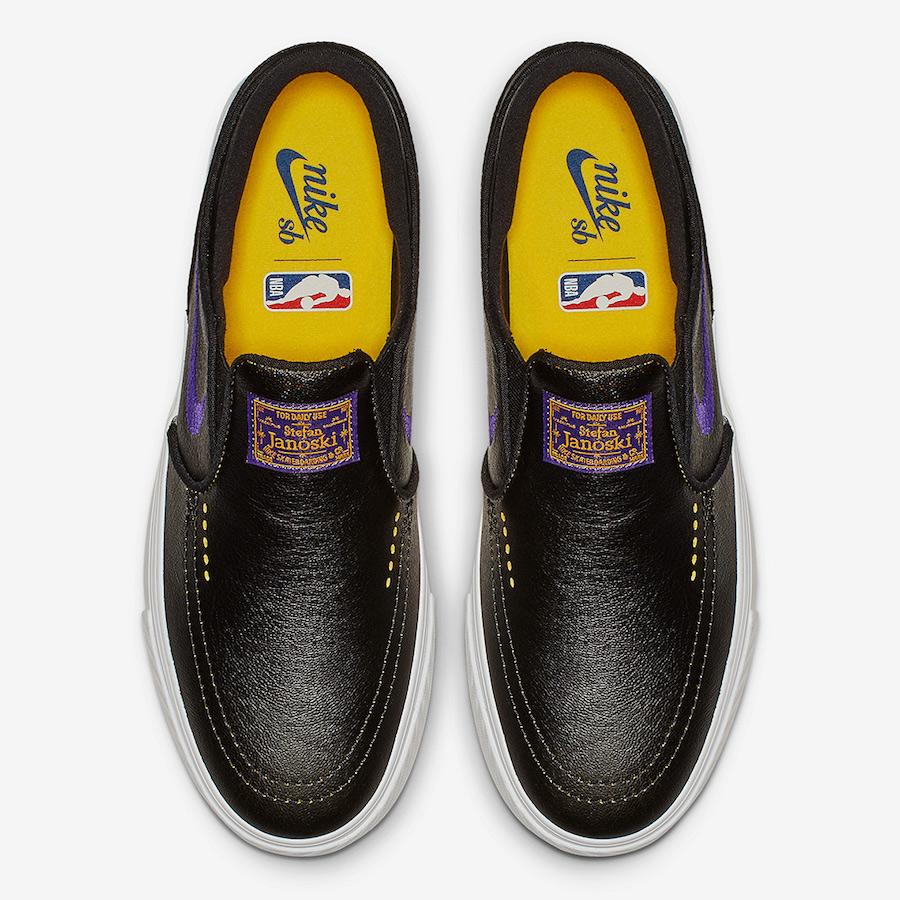 Nike SB Janoski Slip Lakers BQ6396-024 Release Date