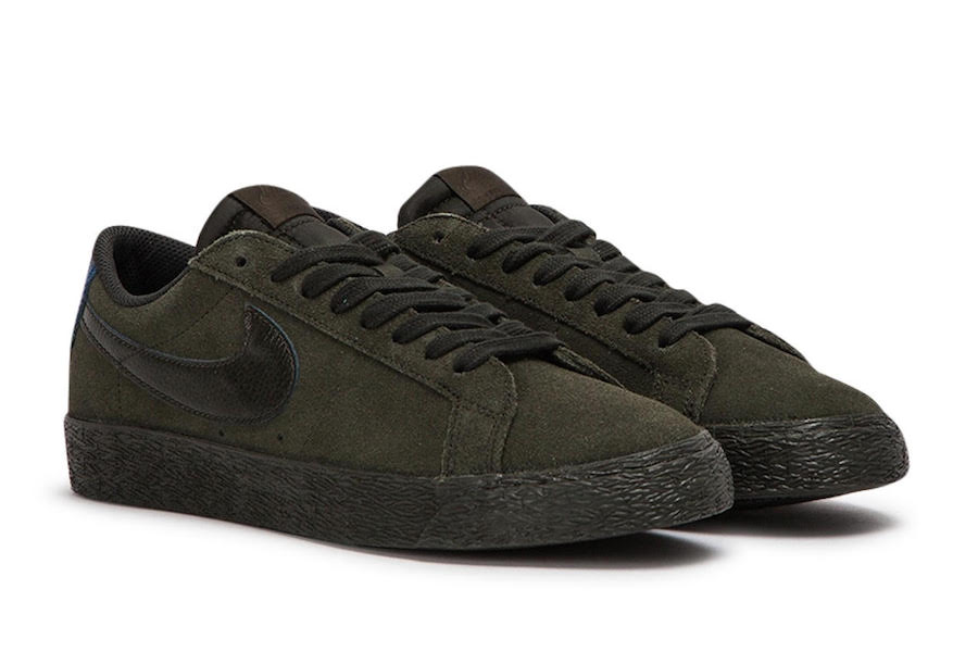 Nike SB Zoom Blazer Low Sequoia 864347-301 Release Date