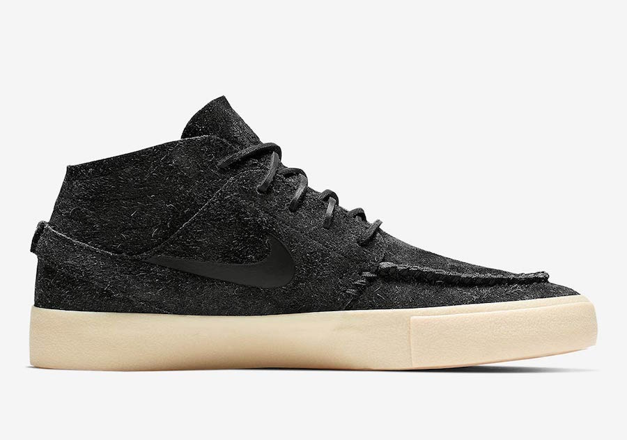 Nike SB Zoom Janoski Mid Crafted Black AQ7460-001 Release Date