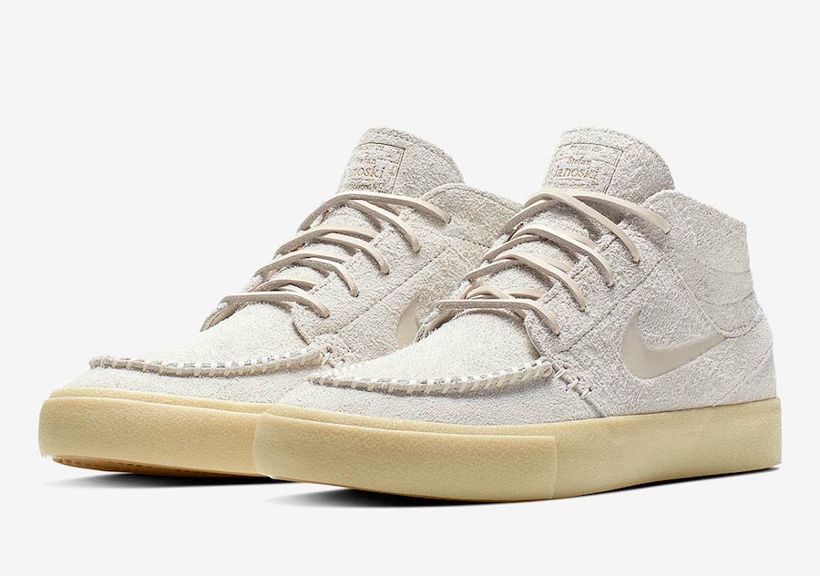 Nike SB Zoom Janoski Mid Crafted White AQ7460-200 Release Date