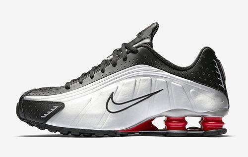 Nike Shox R4 Black Silver