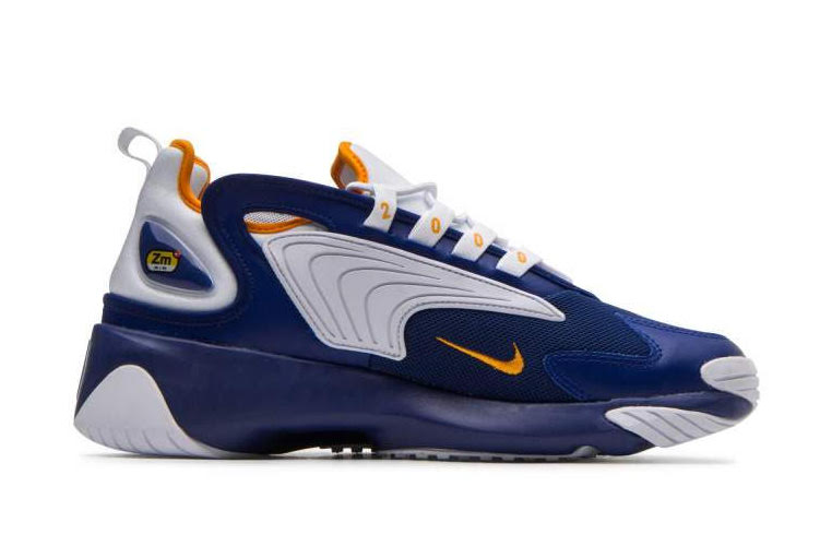 Nike Zoom 2K Deep Royal Blue Orange Peel AO0269-400