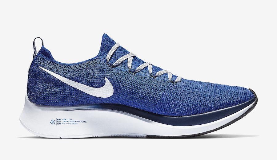 Nike Zoom Fly Flyknit Blue AR4561-400 Release Date