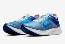Nike Zoom Fly Indigo Force Red Orbit AT5242-400 Release Date
