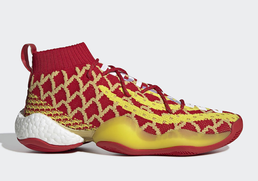 Pharrell adidas Crazy BYW CNY Chinese New Year EE8688 Release Date