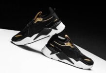 Puma RS-X Trophy Black Gold