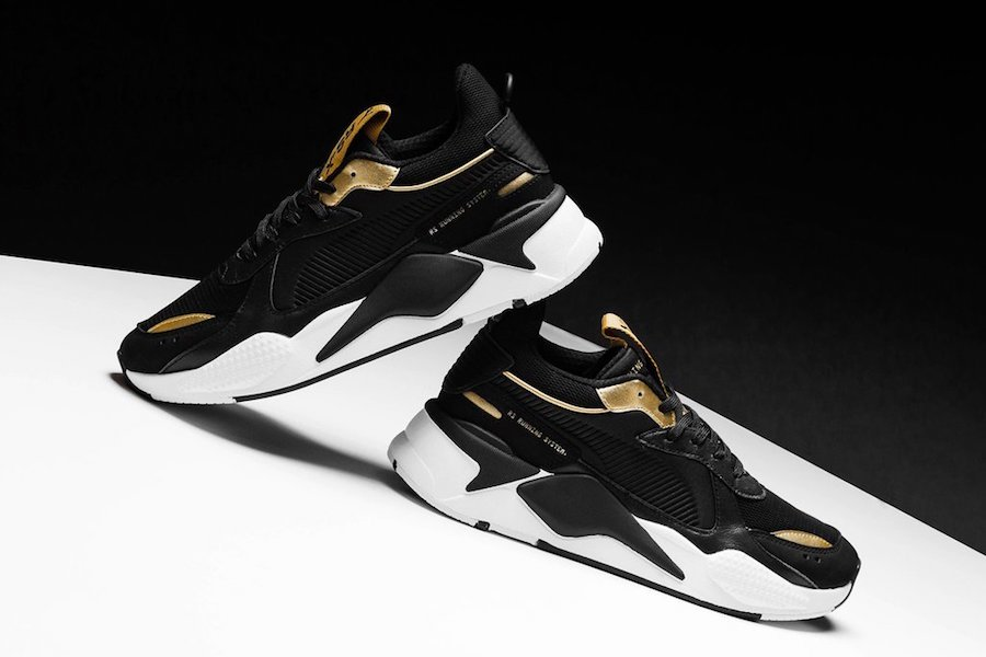 Puma RS-X Trophy Black Gold Release Info | SneakerFiles
