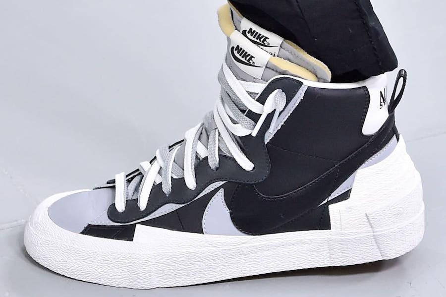 Sacai Nike Hybrid Dunk Blazer Black
