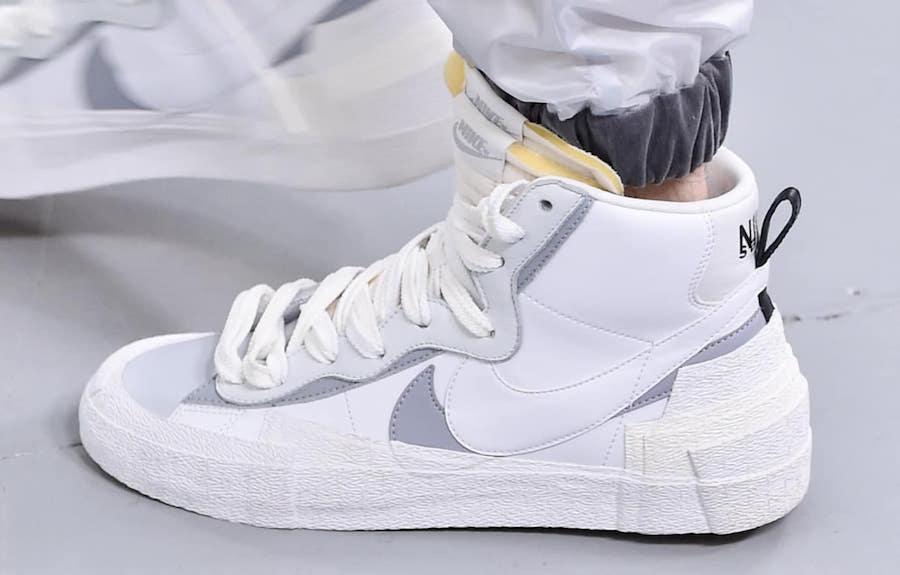 Sacai Nike Hybrid Dunk Blazer White