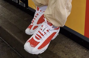 Supreme Nike Air Max Tailwind 4 Red White