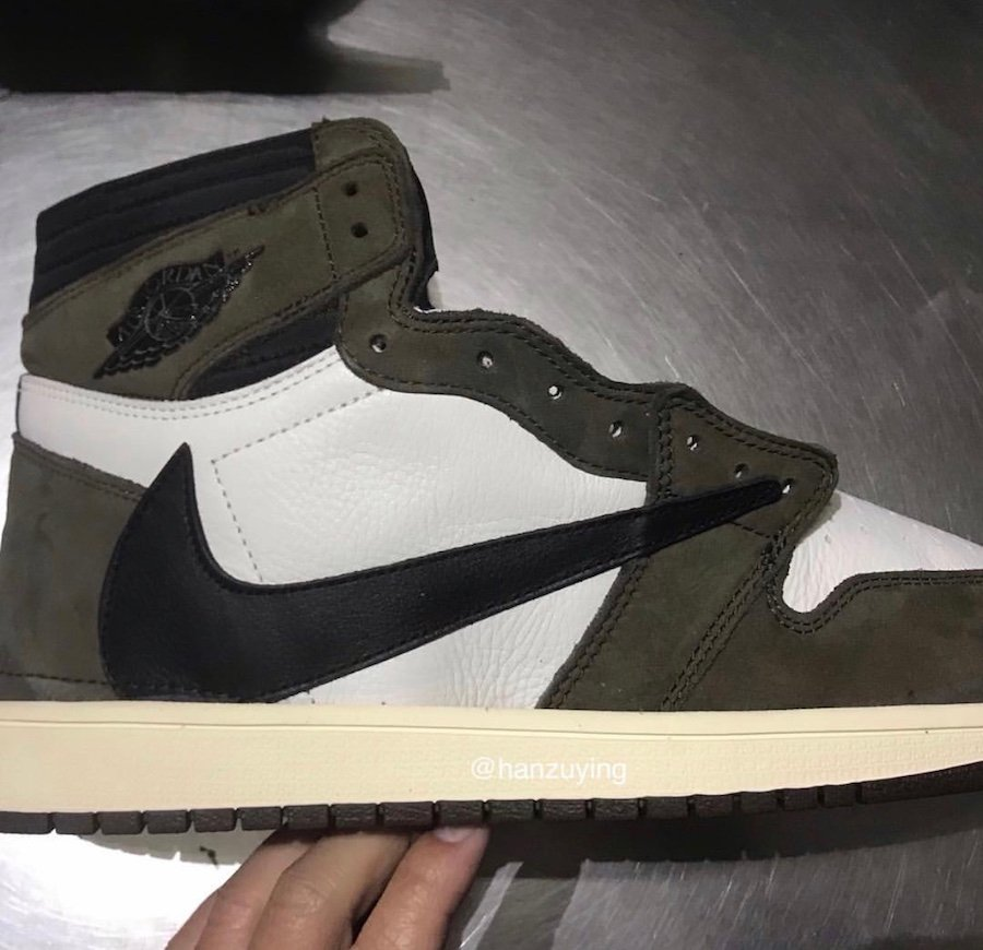 Travis Scott Air Jordan 1 Cactus Jack CD4487-100 2019 Release Date Price