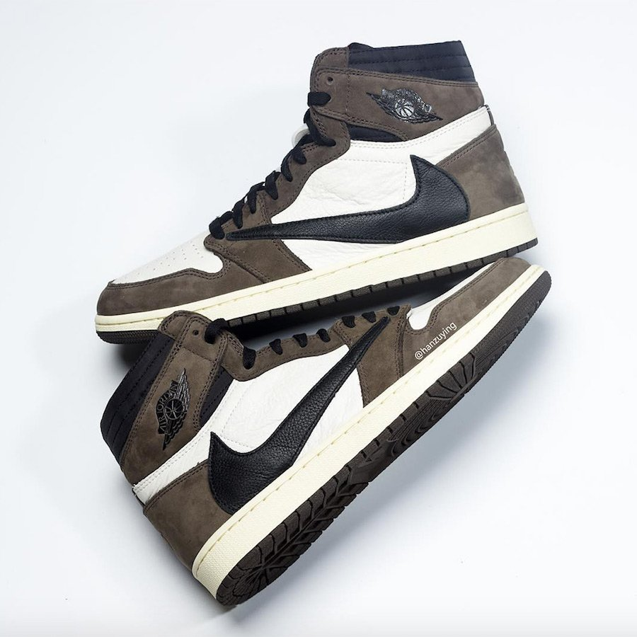 free shipping 5384e 63926 Travis Scott Air Jordan 1 Mocha CD4487-100 Release Date ...