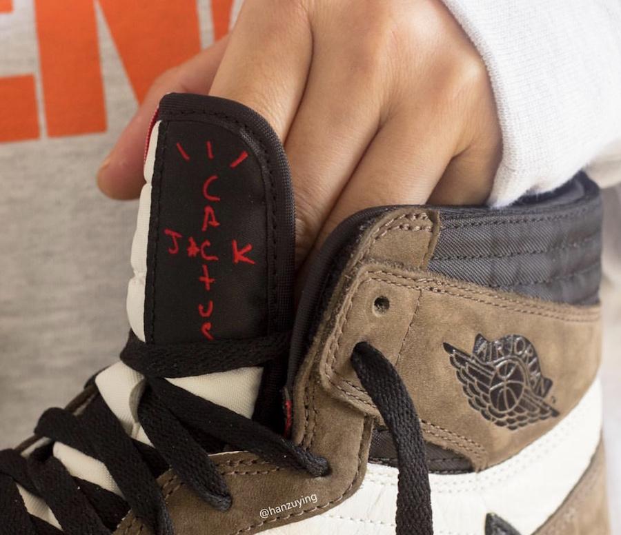 newest 92aa9 0d4d9 Travis Scot Air Jordan 1 Cactus Jack CD4487-100 Release Date