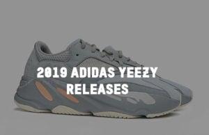 2019 adidas Yeezy Release Dates