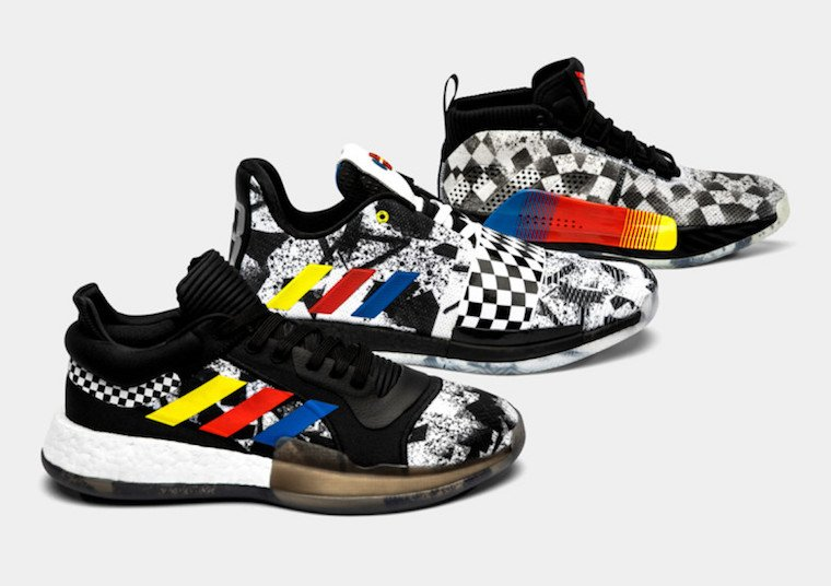 adidas All-Star 2019 Basketball Pack Harden 3, Dame 5, Marquee Boost