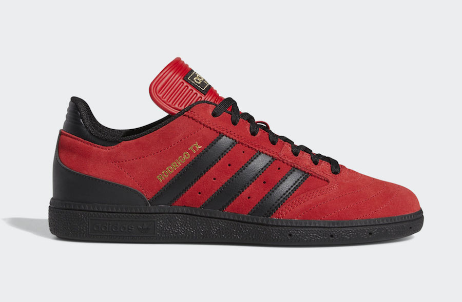 adidas Busenitz Scarlet Red Black G27731 Release Date