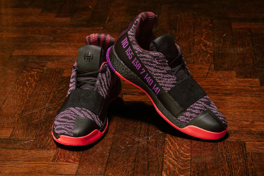 adidas Harden 3 BHM Black History Month Release Date