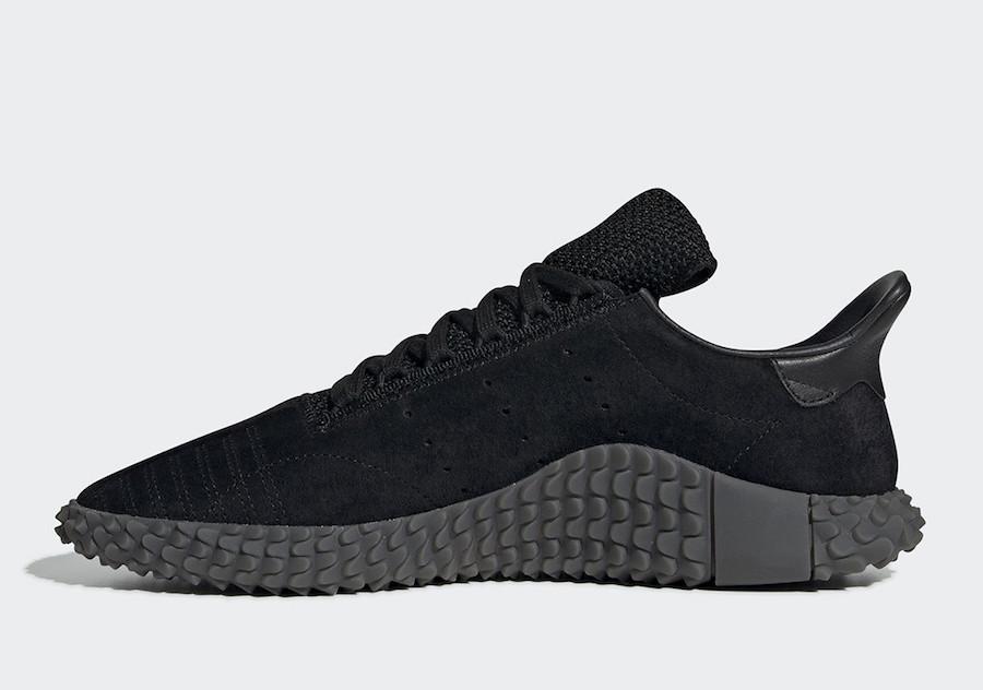 adidas Kamanda Triple Black BD7903 Release Date
