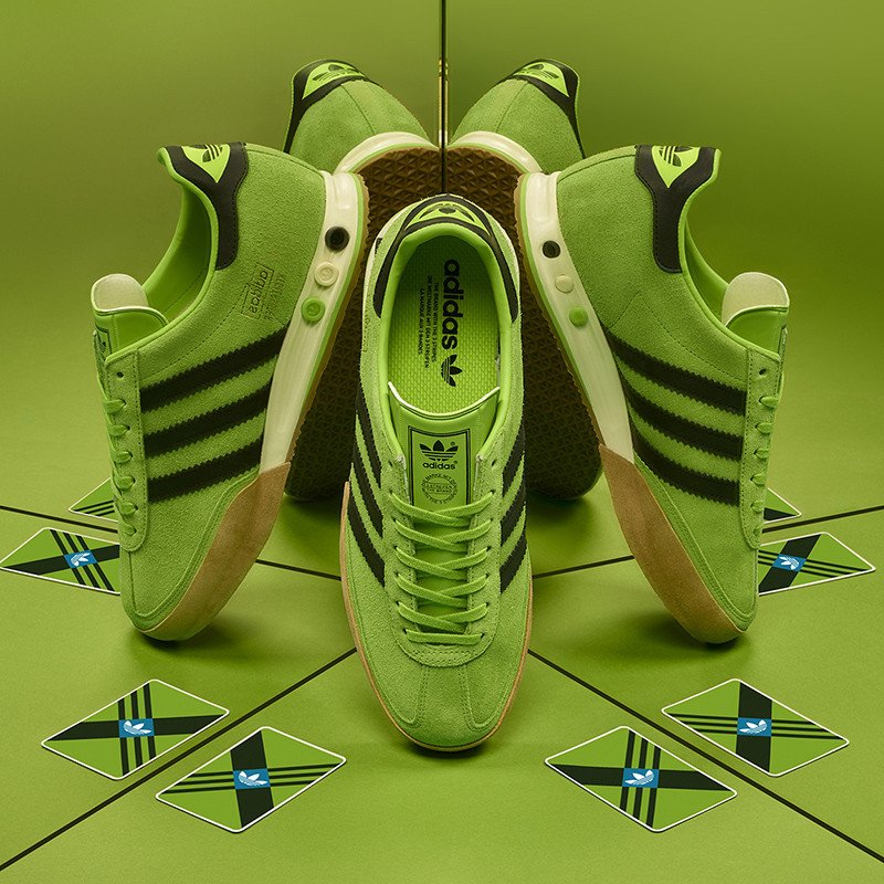 adidas Kegler Super Running Spike Lime Green Release Date