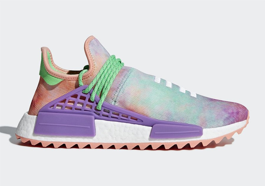 Pharrell adidas NMD Hu Colorways Restock 2019  d3894b799