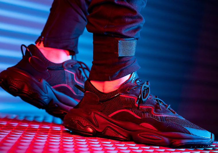 adidas Ozweego adiPRENE Black Release Date