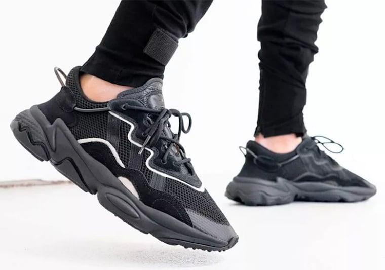 Buy New Futuristic adidas Ozweego adiPRENE All Black Online