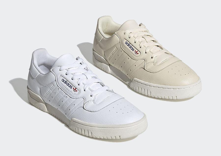 adidas Powerphase Cream EF2889 White EF2888 Release Date