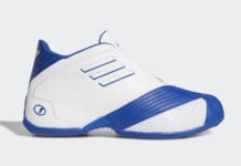 adidas T-Mac 1 White Royal EE6844 Release Date