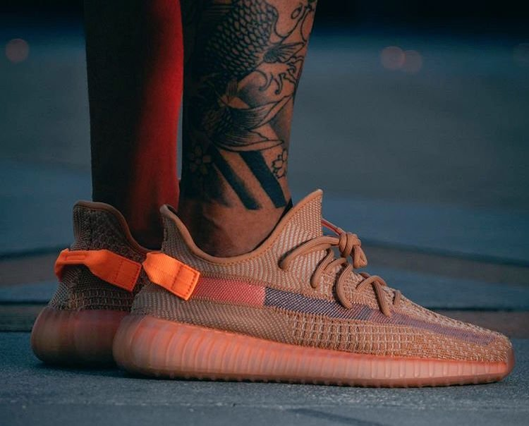 adidas Yeezy Boost 350 V2 Clay 2019 On Feet