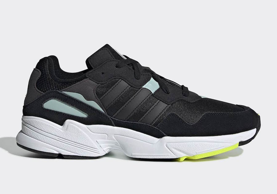 new style 501a7 b7c5d adidas Yung 96 Black Mint BD8042 Release Date