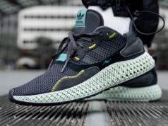 adidas ZX 4000 4D Carbon On Feet