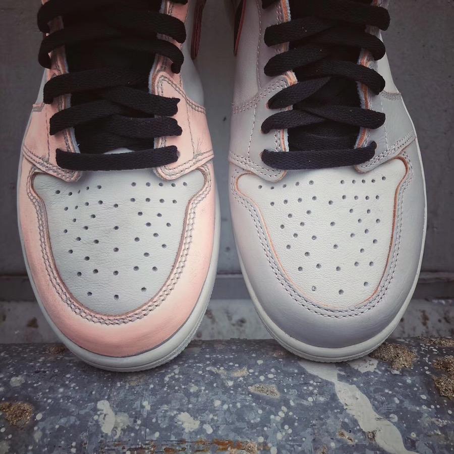 Air Jordan 1 Light Bone Crimson Tint Hyper Pink CD6578-006 Release Date