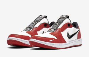 Air Jordan 1 Low Slip Chicago BQ8462-601 Release Date
