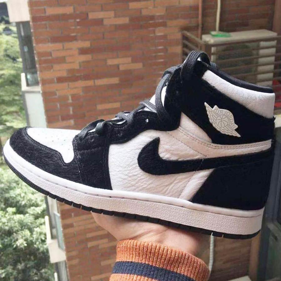 Air Jordan 1 Retro High OG Black White 2019 Release Date