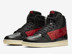 Air Jordan 1 Retro High OG Defiant Couture Black Red BQ6682-006 Release Date
