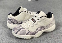 Air Jordan 11 Low Light Bone Snakeskin CD6846-002 Release Date Price