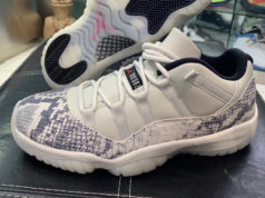 Air Jordan 11 Low Light Bone Snakeskin CD6846-002 Retro Release Date