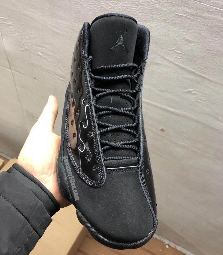 release date 6b297 94dc5 Air Jordan 13 Cap and Gown Black 414571-012 Release Date