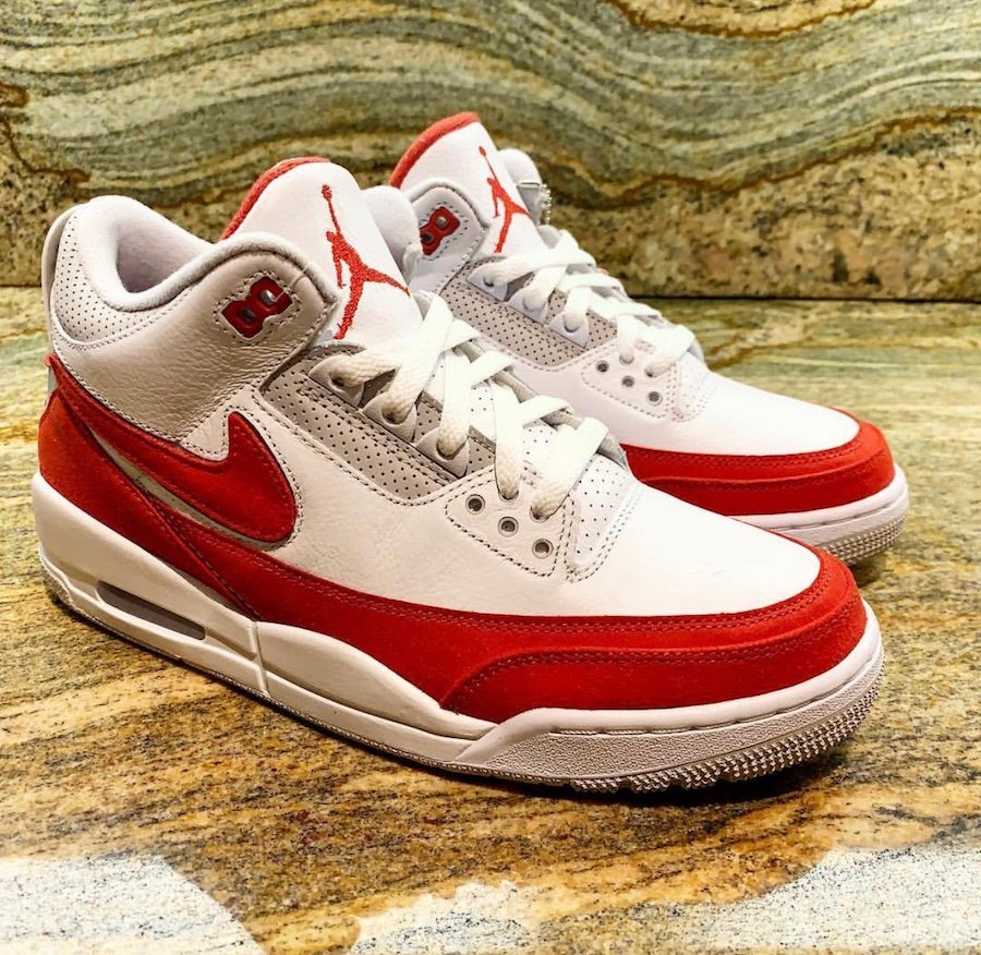 Air Jordan 3 Tinker Air Max 1 University Red CJ0939-100 Release Date