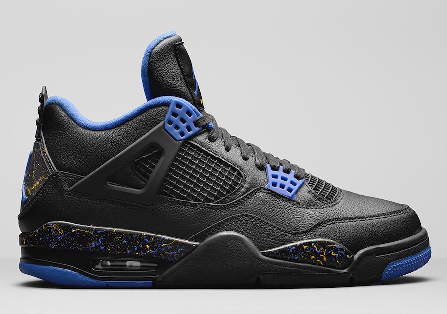 Air Jordan 4 Wings Black Blue 2019 Release Date