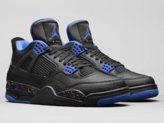 Air Jordan 4 Wings Black Blue 2019 Release Date