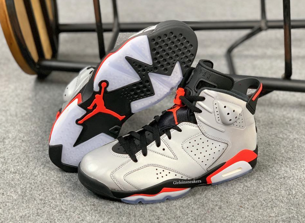 Air Jordan 6 3M Reflective Infrared Release Date