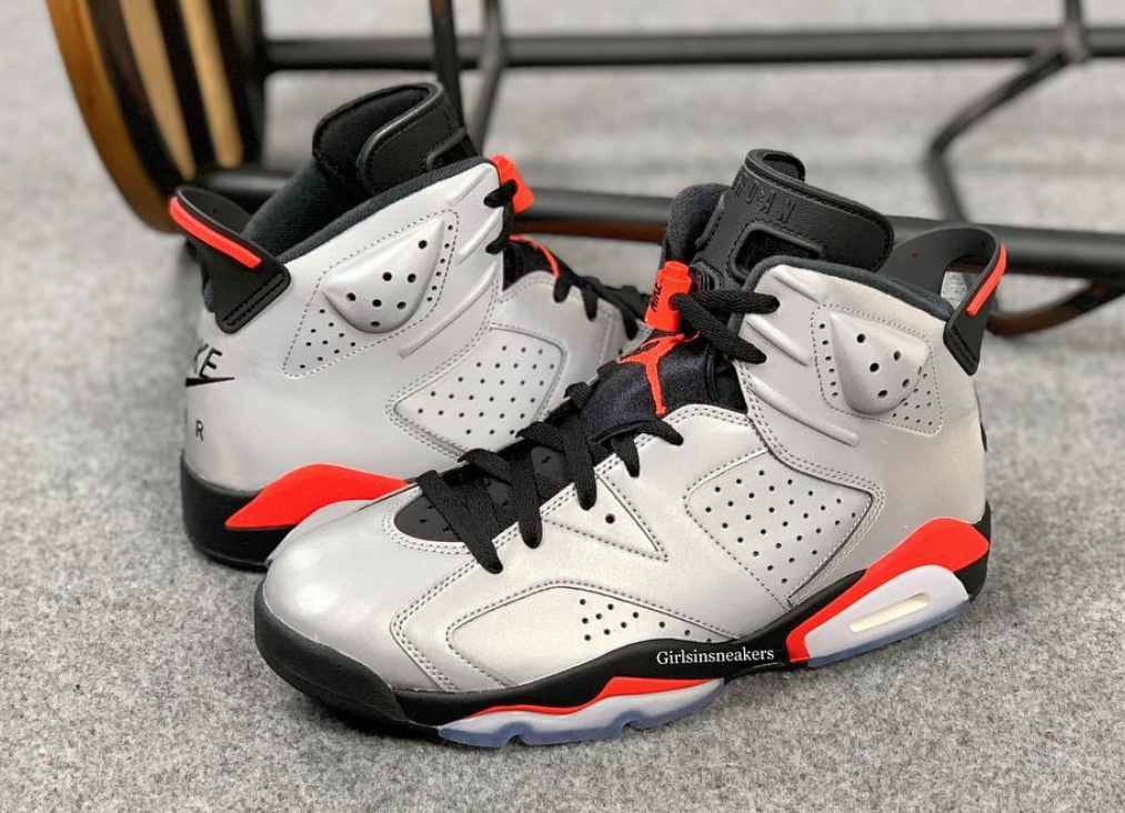 best loved 71453 fcdc5 Air Jordan 6 3M Reflective Infrared Release Date