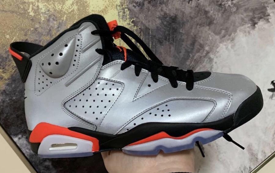 Air Jordan 6 3M Reflective Release Date