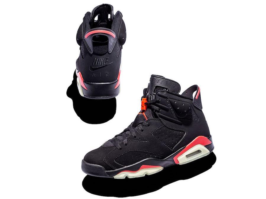 Air Jordan 6 Black Deep Infrared 2000